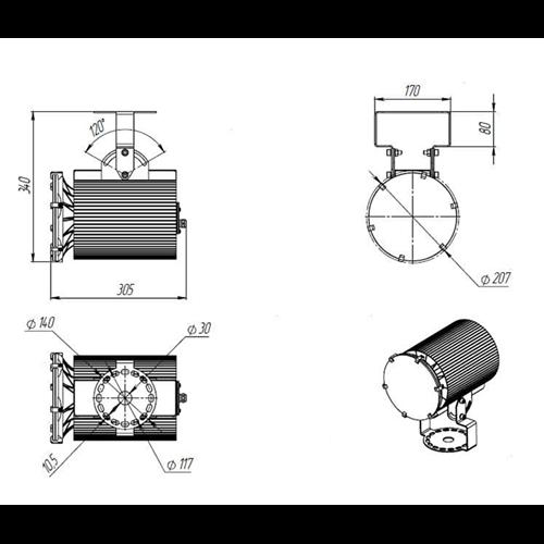 Ex-ДСП 24-90-50-Д120