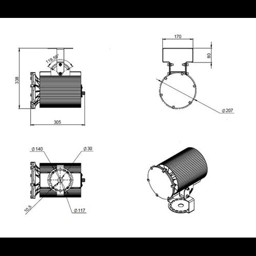Ex-ДСП 24-70-50-К40